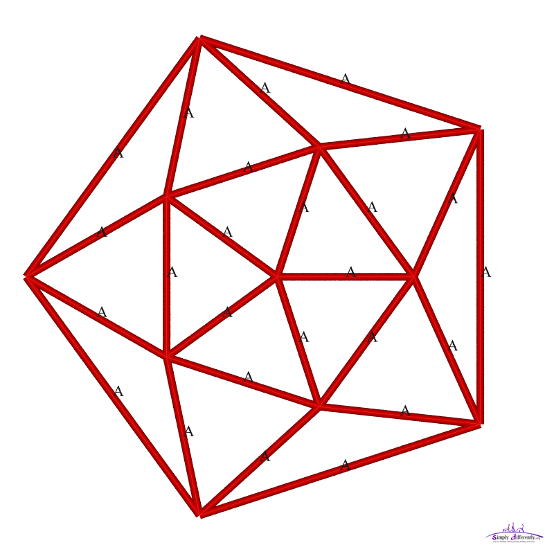 Geodesic Dome: SimplyDifferently.org: Geodesic Dome Notes & Calculator