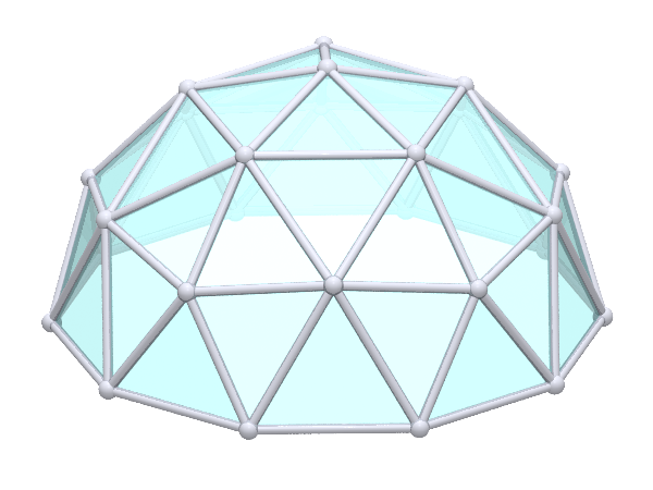 Geodesic dome templatesimplydifferently org geodesic for Geodesic dome template