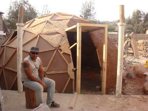 Simplydifferently Org Geodesic Clay Mud Dome